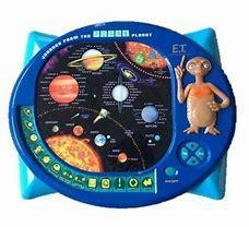 Vintage ET journey from the GREEN planet educational toy