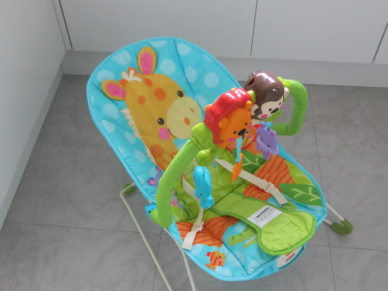 Fisher Price Rocker / Bouncer Baby Has Music / Calming