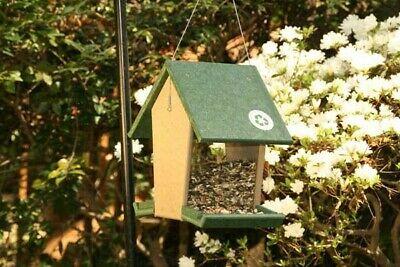 Songbird Essentials 4 Quart Hunter Driftwood Hopper Bird
