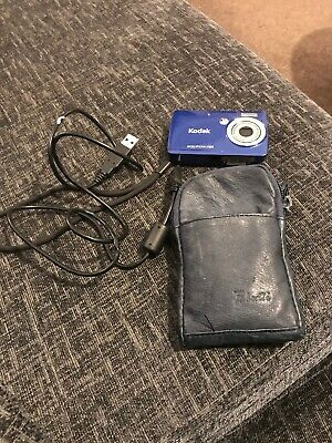 Blue Kodak EASYSHARE Mini MMP Digital Camera