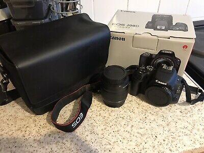 Canon EOS 200D 24.2 MP Digital SLR Camera - Inc Box,