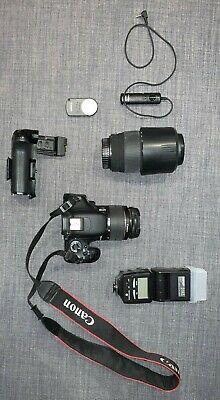 Canon EOS 600D 18.0MP - Black (Kit w/ EF EF-S mm Lens &