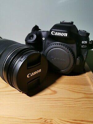 Canon EOS 80D 24.2MP Digital SLR Camera - Black (Kit w/ EF-S