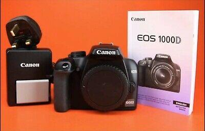 Canon EOS D 10 MP Digital SLR Camera - Black (Body Only)