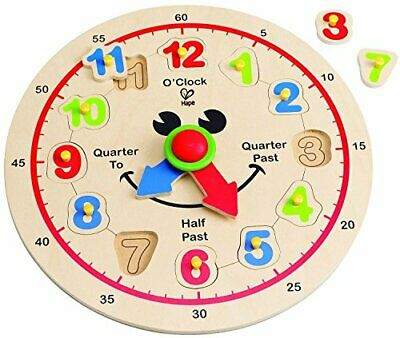 Hape (Hape) happy clock E hour