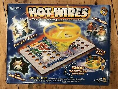 John Adams Hot Wires Educational Toy Plug & Play Electronics