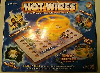 John Adams Hot Wires Plug & Play Educational Toy Game 100%
