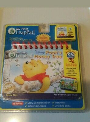LeapFrog My First LeapPad Book - Disney Pooh's Honey Tree -