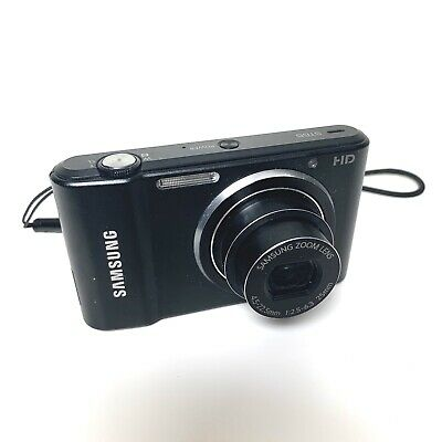SAMSUNG STMP Black HD Digital Compact Camera - 5X