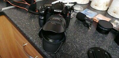 Sony Alpha SLT-A77V 24.3MP Digital SLR Camera - Black