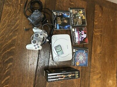 Sony PlayStation 1 Grey Console & Games