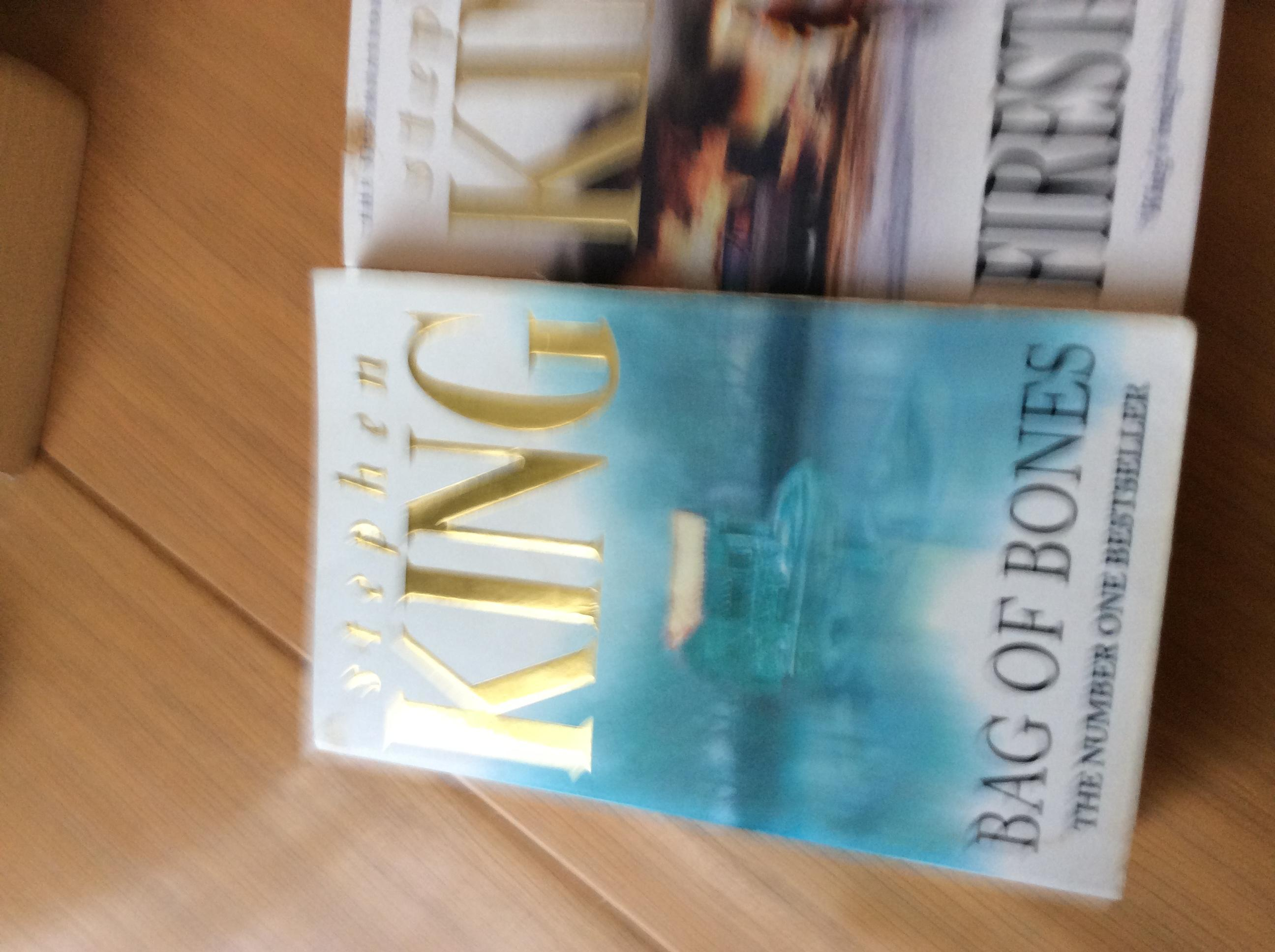 Two Stephen king books