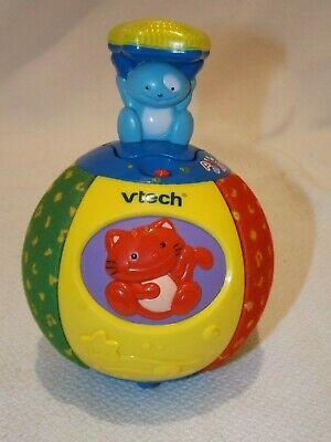 VTECH POP UP SURPRISE BALL TALKING SINGING MUSIC ANIMAL