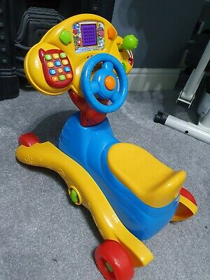 VTech  Grow and Go Ride-on Toy used excellent condition