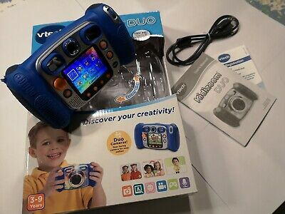 VTech Kidizoom Duo Blue Kids 2MP 4xZoom Camera