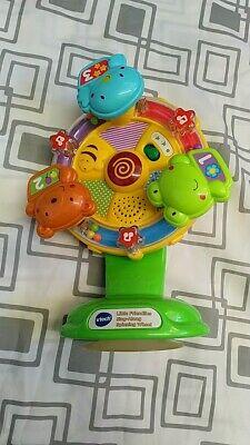 Vtech Little Friendlies Sing-along Spinning Wheel/highchai r