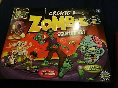 Weird Science Make & Create A Zombie Experiment Kids Slime