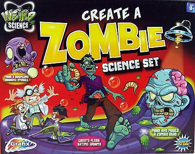 Weird Science Make & Create A Zombie Experiment Slime kit