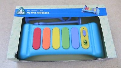 EARLY LEARNING CENTRE MY FIRST XYLOPHONE WITH ORIGINAL BOX