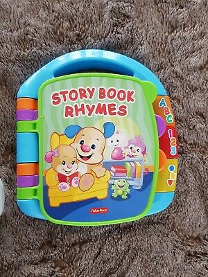 Fisher-Price CDH26 Laugh and Learn Story, Rhymes, Electronic