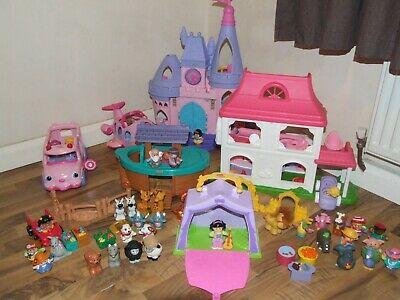 Fisher Price Little People Bundle, Disney Princess Palace,