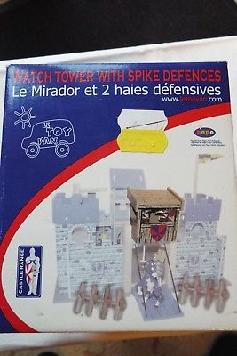 LE TOY VAN WATCH TOWER WITH SPIKE DEFENCES