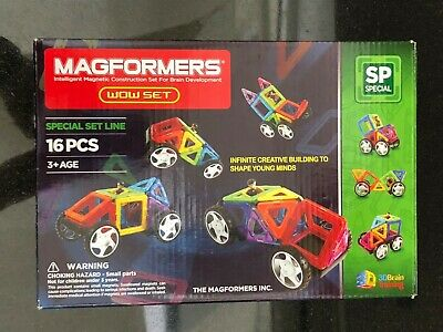 Magformers Wow intelligent Magnetic Construction set for