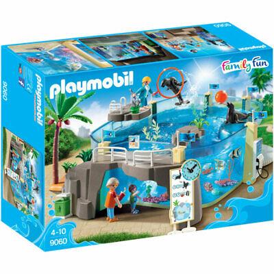 PLAYMOBIL Aquarium - Family Fun  - DAMAGED A