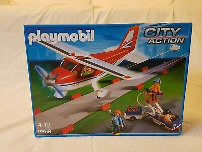 Playmobil  City Action Red Plane- Brand New & Boxed