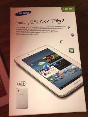 Samsung Galaxy Tab 2 GT-PGB, Wi-Fi, 7 inch white -
