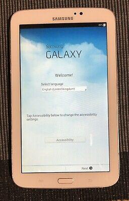 Samsung Galaxy Tab 3 - White 7 inch tablet - 8GB