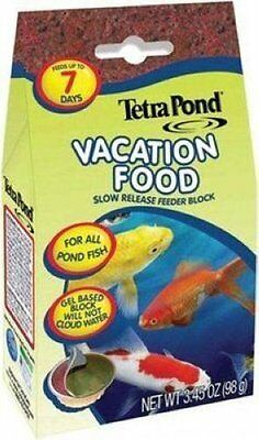 TETRA POND VACATION FOOD 3.45 OZ CONTAINER TETRAPOND