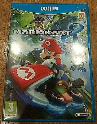 NINTENDO WII U MARIO KART 8 - Multiplayer Racing Mario,