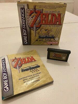 Zelda: A Link to the Past (Game Boy Advance) - Boxed with