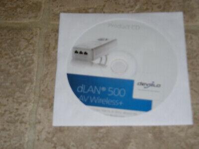 """Product CD & Installation guide for """"DEVOLO dLAN 500 WiFi AV"""