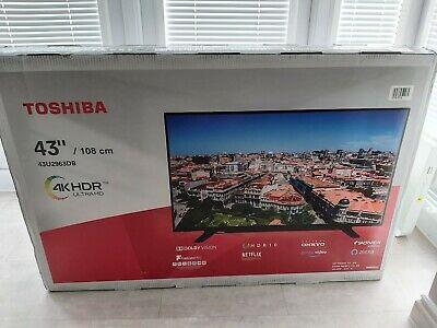 Toshiba 43UDB 43 Inch TV Smart 4K Ultra HD LED Freeview