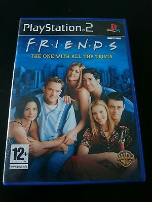 Friends: The One with all the Trivia (Sony PlayStation 2,