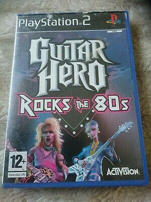 Guitar Hero Encore: Rocks the 80s (Sony PlayStation )