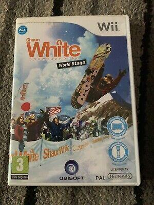Shaun White Snowboarding 2: World Stage (Nintendo Wii, )
