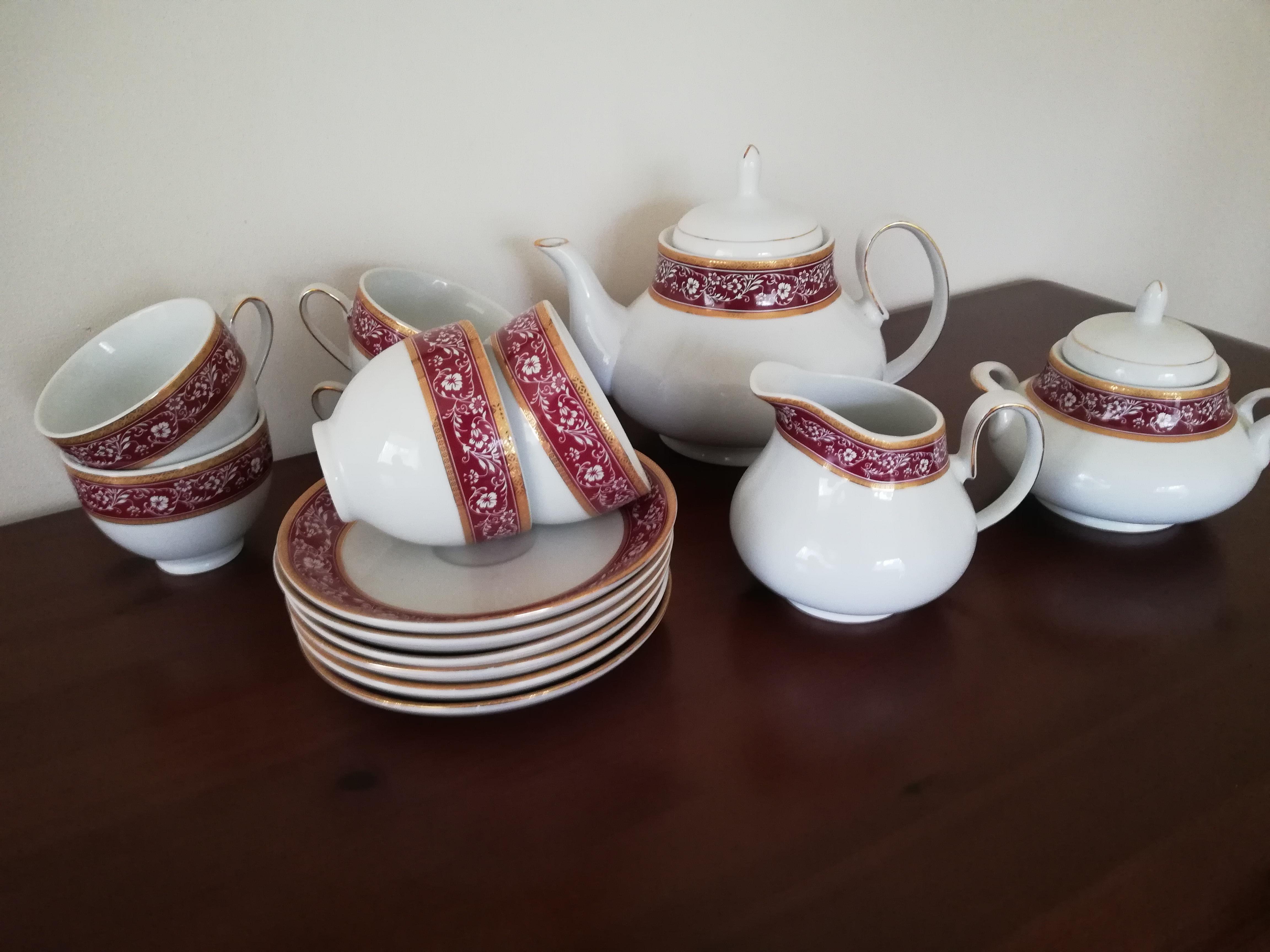 Tea Set, Waterside Fine China