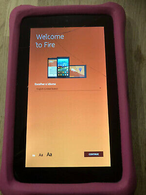 Amazon Fire 7 Kids Edition 16GB, Wi-Fi, 7in - Pink