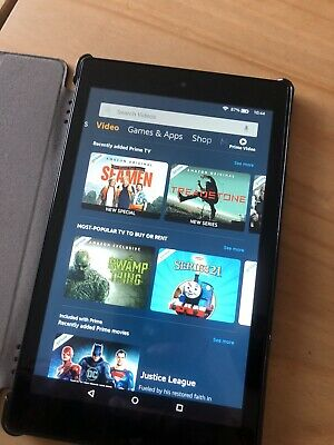 Amazon Kindle Fire HD 8 16GB, Wi-Fi, 8in - Black
