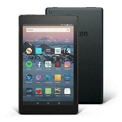 Amazon Kindle Fire HD 8 16GB, Wi-Fi, 8in - Black (with