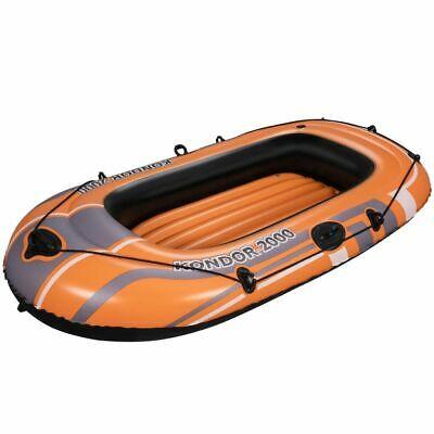 Bestway Kondor  Inflatable Rowing Fishing Rafting Boat