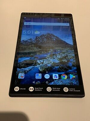 "Lenovo Tab 4 16GB, Wi-Fi, 8"" Tablet - Black Grade A"