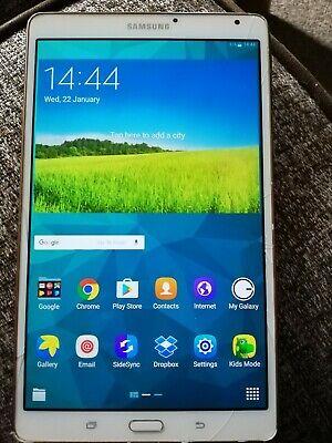 Samsung Galaxy Tab S SM-TGB, Wi-Fi, 8.4 in White
