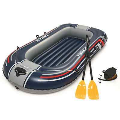 Bestway Hydro-Force Inflatable Boat with Pump and Oars Blue