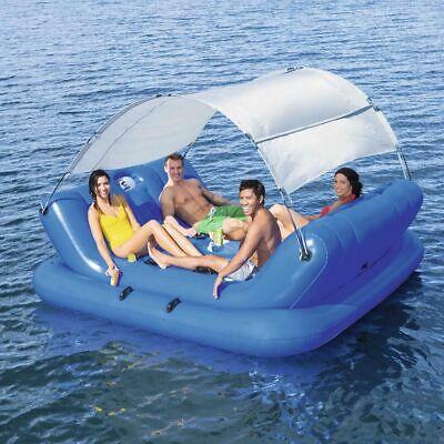Bestway Rock-N-Shade Inflatable Floating Island 272x196cm