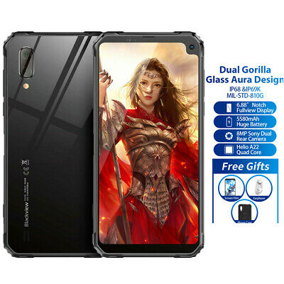 "6.88"" Blackview BVGB+16GB Dual Gorilla Smartphone NFC"