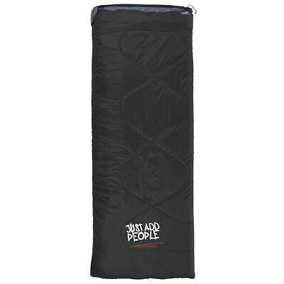 Easy Camp Chakra Black Sleeping Bag Outdoor Waterproof